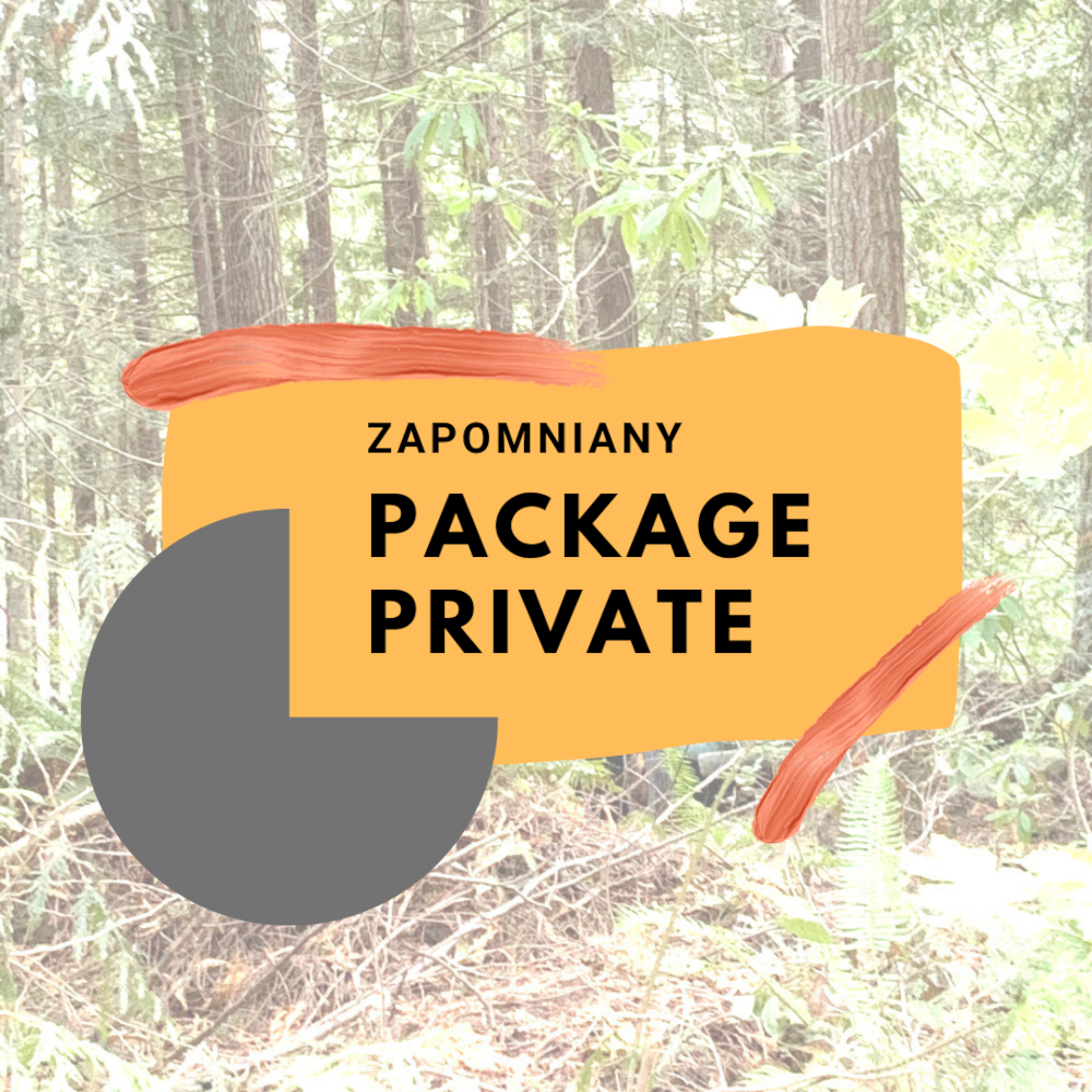 Zapomniany package private